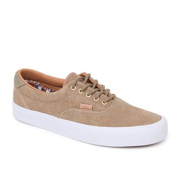 Vans Era 59 Denim Suede Shoes - Mens Shoes - Beige