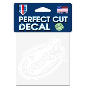 """Licensed Florida Gators Official NCAA 4"""" x Automotive Car Decal 4x4 by Wincraft 940063 KO_19_1"""