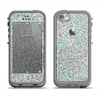 The Colorful Small Sprinkles Apple iPhone 5c LifeProof Fre Case Skin Set