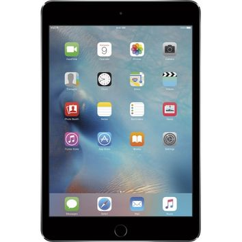 Apple - iPad mini 4 Wi-Fi 128GB - Space Gray