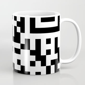 QRCODE Coffee Mug by gunadesk
