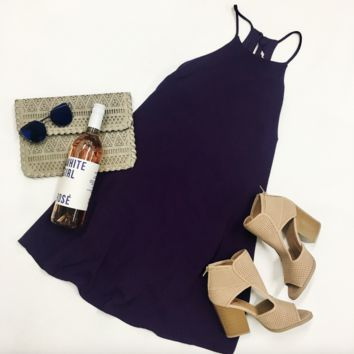 Gameday Ready Dress - Purple