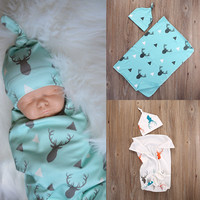 Newborn Baby Stretch Wrap Swaddle Blanket