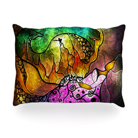 "Mandie Manzano ""Sleeping Beauty"" Fairy Tale Oblong Pillow"