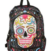Day of the Dead Skull Backpack