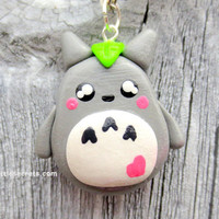 Studio Ghibli Chibi Totoro Necklace by NerdyLittleSecrets on Etsy