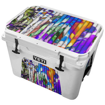 Grafitti Painted Pipes Skin for the Yeti Tundra Cooler