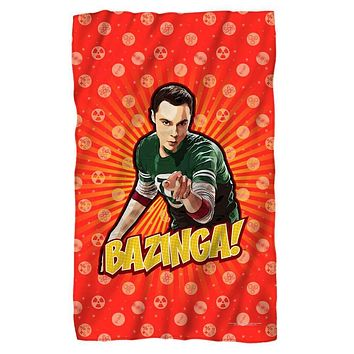 Big Bang Theory/Bazinga Fleece Blanket