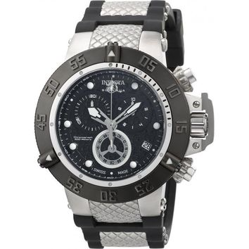 Invicta Men's 90114 Subaqua Quartz Chronograph Black Dial Watch