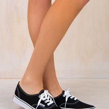VANS Classic Authentic Black Sneaker