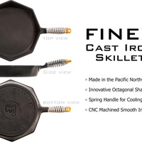 Finex Cast Iron Skillet: A Beloved Classic Updated