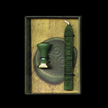 Celtic Green Letter Sealing Wax Gift Set