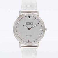 Shore Projects Metal Falmouth Watch in Silver - Urban Outfitters