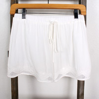 Blank Space Linen Shorts