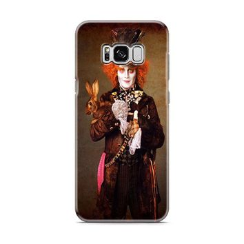 Alice In Wonderland Johnny Depp Samsung Galaxy S8 | Galaxy S8 Plus case