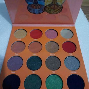Stylish Hot Sale On Sale Hot Deal Make-up Beauty Professional 6-color Eye Shadow Make-up Palette [11552236620]