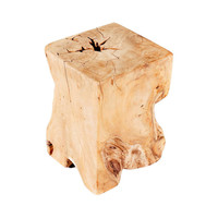 Tropical Teak Side Table
