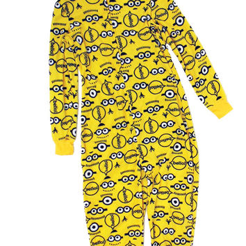 Junior's Onesuit Pajama Minion from Despicable Me