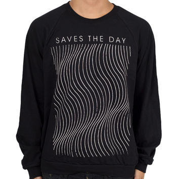 "Saves The Day ""Waves Crewneck"" Crewneck Sweatshirt"