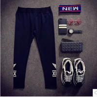 Casual Slim Strong Character Cotton Print Hip-hop Sportswear = 6458513219