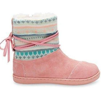 Toms Youth Nepal Boots Fair Isle 10006423
