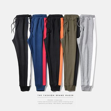 New Fashion High Quality Men Pants Casual Mens Hip Hop Joggers Slim Harem Joggers Sweatpants Joggers Men Tracksuit Pants
