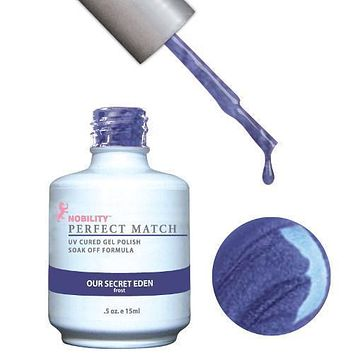 LeChat Perfect Match Gel / Lacquer Combo - Our Secret Eden 0.5 oz - #PMS69
