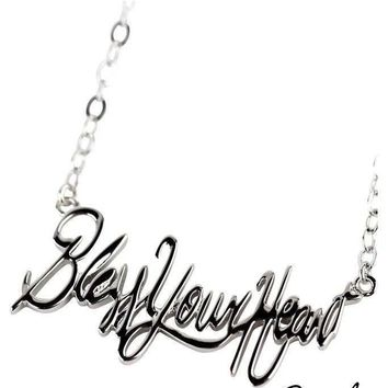 Southern Jewelry Scripted Sayings Necklaces