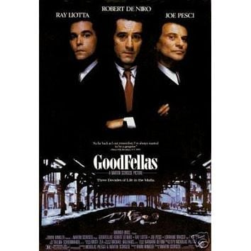 Goodfellas Group Movie Poster