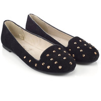 Studded Slipper Shoes | Black | Accessorize