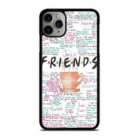 FRIENDS TV SHOW QUOTES iPhone Case Cover