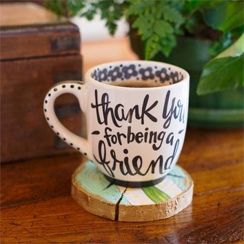 Thank You for Being a Friend - Jumbo Mug