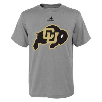 adidas Colorado Buffaloes Primary Logo Tee - Boys