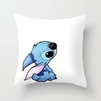 Stitch Throw Pillow by Tati