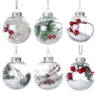 Christmas Tree Drop Ornaments Xmas Pendant Hanging Ball Christmas Decorations For Home Christmas Decoration Pendant Q3