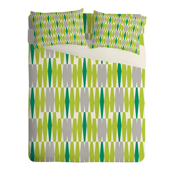 Heather Dutton Abacus Emerald Sheet Set Lightweight