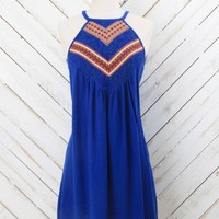 Song of the South Lace Back Dress