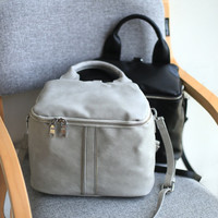 Box Backpack Multi-functioned Casual Vintage Messenger Bags [4915797828]