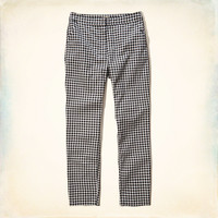 Patterned Skimmer Pants