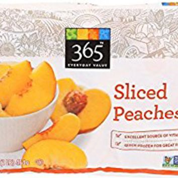 365 Everyday Value, Sliced Peaches, 16 oz, (Frozen)