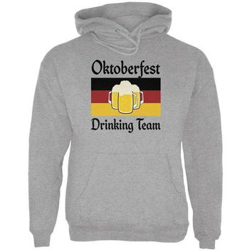ESBGQ9 Oktoberfest Drinking Team Flag German Beer Mens Hoodie