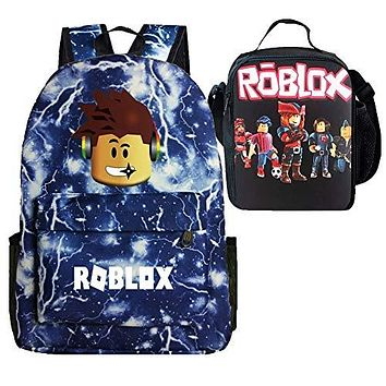 Roblox Backpack + Lunch Box