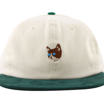 KILL CAT SNAPBACK IVORY/GREEN