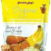 Grandma Lucy's Organic Banana & Sweet Potato Treats 14oz