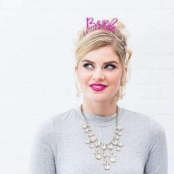 """Bachelorette Party Headband - """"Bride"""" (Pack of 1)"""