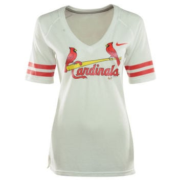 St. Louis Cardinals MLB Women's Fan V-Neck T-Shirt
