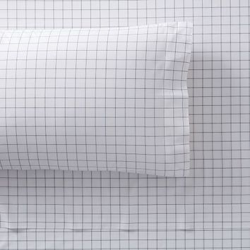 Mini Window Pane Organic Sheet Set