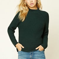 High-Neck Sweater