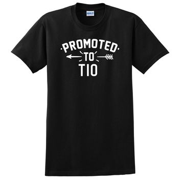 Promoted to tio  pregnancy reveal baby shower gift T Shirt