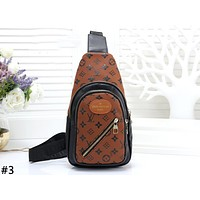 LV 2019 new men and women models wild chest bag waist bag Messenger bag #3